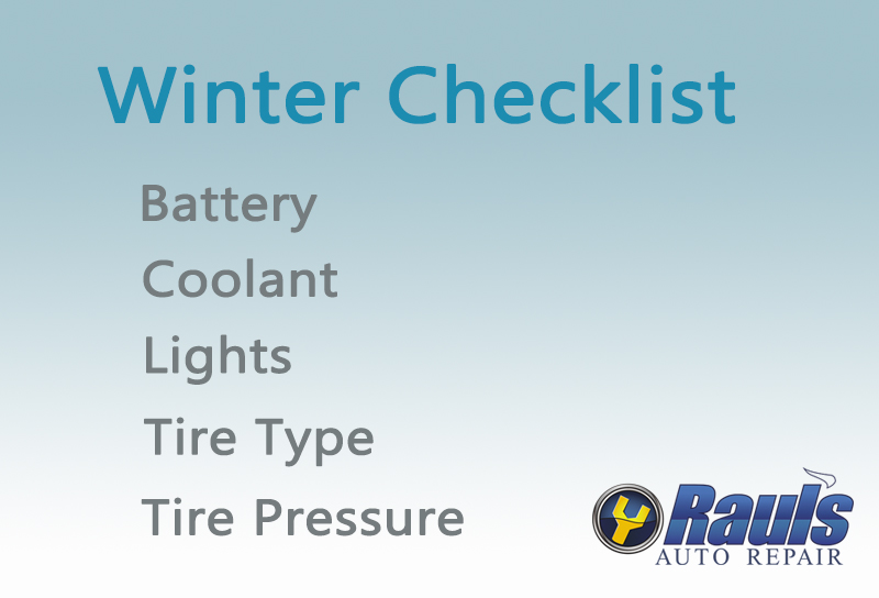 Top 5 Checklist for Winter Driving